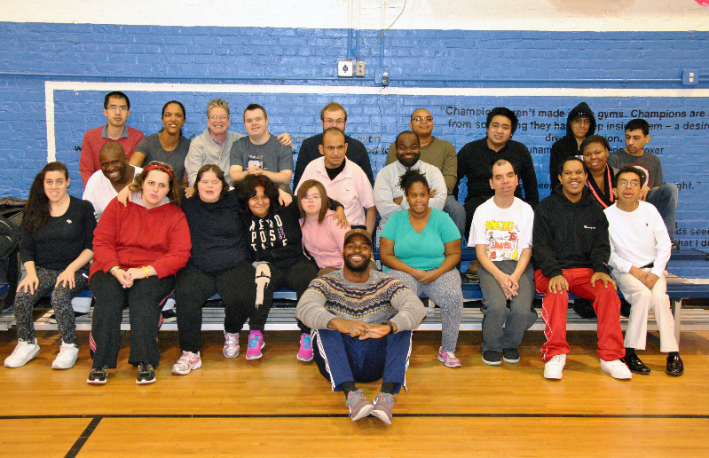 Jeff London & clients from Arc of Westchester